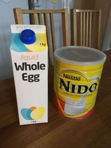 Delivery of eggs n milk