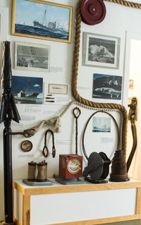 Items related to the whale hunt
