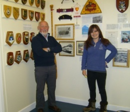 Tom & Katie and the new Shackleton House exhibition