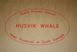 Whale meat box
