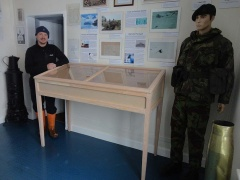 Darren completed building the new military cabinet shortly before he left.