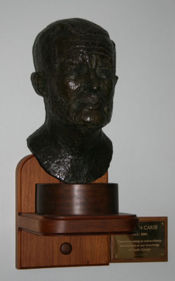 Duncan Carse bust