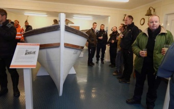 February 2015: Curator Deirdre Mitchell has finished the redisplay of the Carr Maritime Gallery