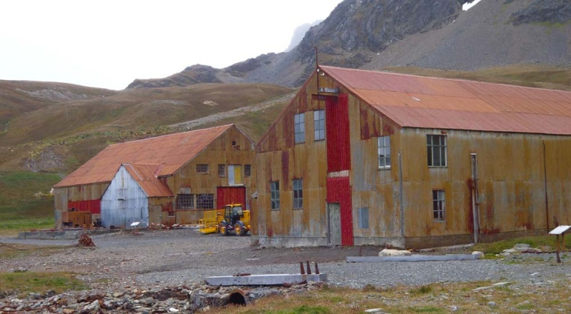 May 2014: Appeal for photographs of Stores in Grytviken Whaling Station Can you help the South Georgia Museum with your old photographs?