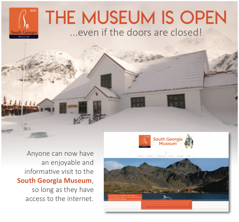 South Georgia Museum launches a new website