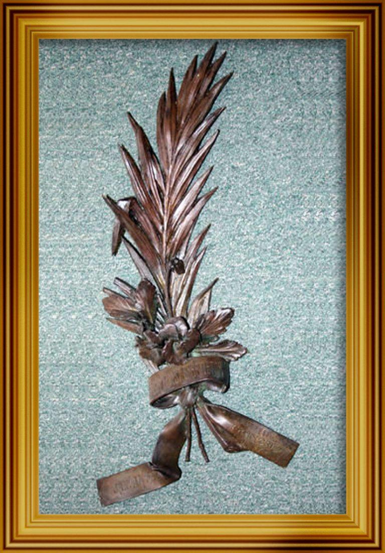 Funeral Wreath South Georgia Museum: 1997.1.276 FRAME