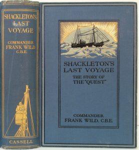 Shackleton's Last Voyage by Frank Wild (1923 edition)