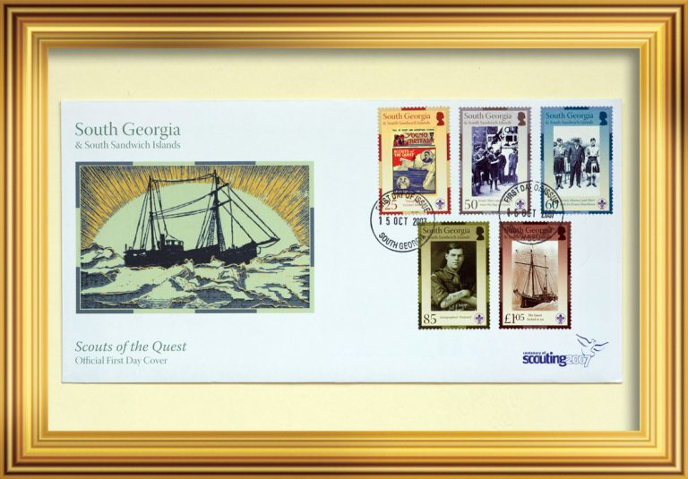 Stamp Issue: South Georgia and South Sandwich Islands, 15 October 2007 South Georgia Museum.2021.4