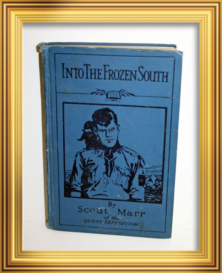 Into the Frozen South by Scout Marr (1927 edition, signed by K.Coleman) James Marr joined the Royal Naval Volunteer Reserve and in 1943 was recalled from operations in the Far East to lead Operation Tabarin, a covert operation in the Antarctic. After the war Operation Tabarin became The Falkland Islands Dependencies Survey, which, in turn, was renamed the British Antarctic Survey. An eminent Marine Biologist, who also worked as part of the Discovery Investigations, James Marr went on to write the major reference work on Antarctic Krill, the basic component of the Antarctic food chain. South Georgia Museum.D.1996.216